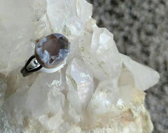 Smoky Quartz - Smoky Quartz Ring - Adjustable Ring