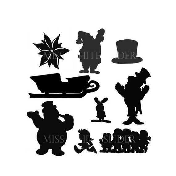 Frosty the snowman shadow puppet set 9 templates frosty the snowman shadow puppet set 9 templates pronofoot35fo Gallery