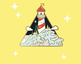 I wanna Be Where The People Arent PREORDER - hard enamel pin