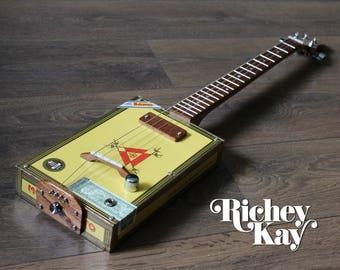 Richey Kay 4 string Cigar Box Guitar