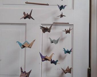 Paper Origami Crane Mobile