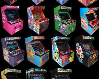 Mini 3D Printed Arcade Cabinet (Raspberry Pi 3,Retro Arcade &Consoles)