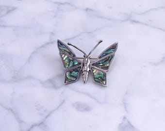 Sterling petite Butterfly Pin (Mexico)