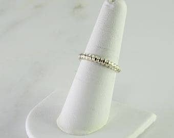 Sterling Stack Ring Size 7-