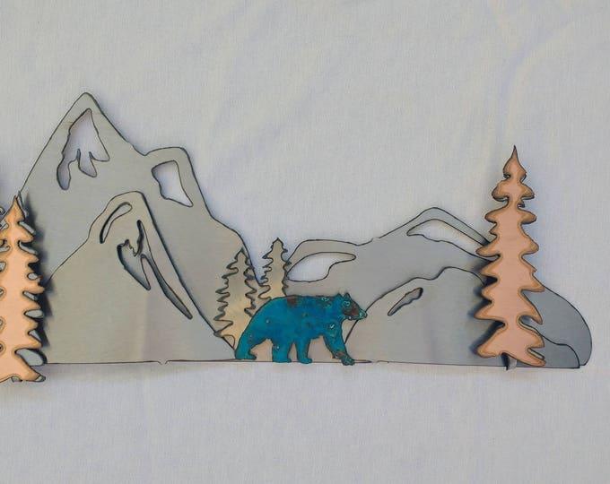 Single Magnet Mountain Display