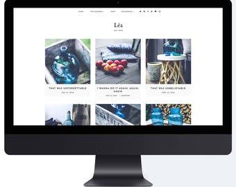 Léa | Responsive Blogger Template + Free Installation