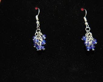 Colored Tree Earrings