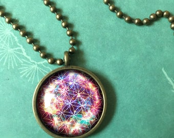 Mystical Geometry design Pendant