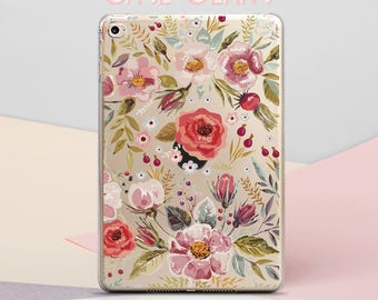 Florals iPad Case iPad Mini Case Flowers iPad Air Case iPad 9.7 2017 Case iPad Mini Case iPad Pro 12.9 Case iPad Cover iPad Mini CG4043