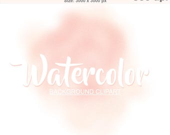 Watercolor background ClipArt PNG Texture