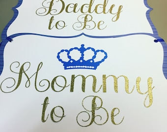 Baby Shower Chair Signs