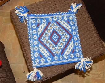 Traditional Moroccan Wool Pilow