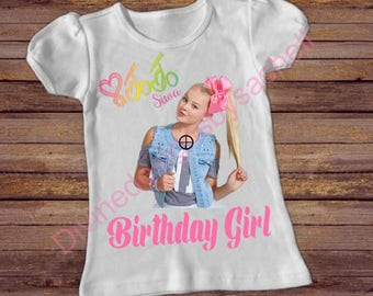 Jojo Birthday Shirt, Jojo Siwa Shirt, Birthday Shirt, Birthday Girl Shirt
