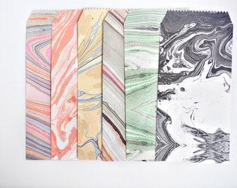 Marble Watercolour Envelope Set, Letter Envelopes - LT025