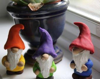 Mini Garden Gnomes - perfect for your container garden