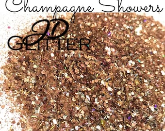 Champagne Showers Chunky Glitter Mix