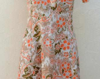 Vintage 70s dress Size 38 FR