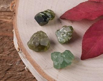 6g Lot Medium Demantoid GARNET - Green Garnet, Rough Garnet Stone, Garnet Jewelry Making, Raw Garnet, Garnet Crystal, Chakra Crystal E0415
