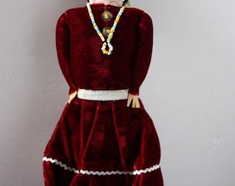Native American Souvenir Doll, Navajo souvenir doll, Native American doll, Native American souvenir, American Indian doll, Native American