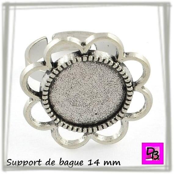 Support de bague 14 mm [Vintage flower]