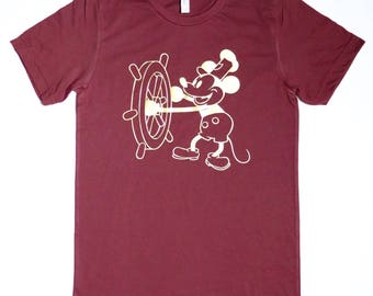 Steamboat Willie / Mickey Mouse T-Shirt
