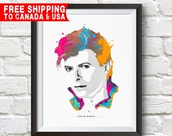 David bowie art Etsy