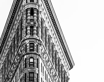 Flat Iron Building - New York - Fine Art Photography Print - New York Photography - Travel - Black and White - New York Print  - City Photo