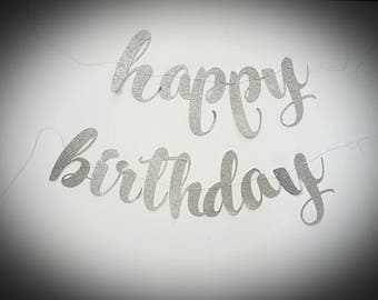 Happy Birthday Script Banner