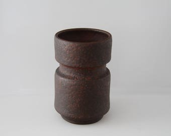 Superb Vase by Töpferei Hoy, Hartwig Heyne No. 80/13, West German Pottery, WGP, Studio Pottery