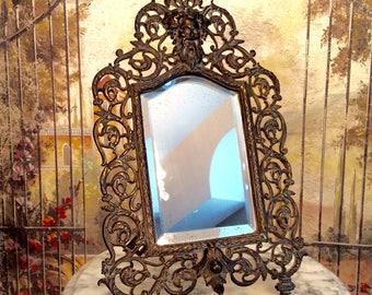 Antique Brass Northface Vanity Mirror