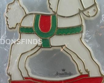 Hallmark Rocking horse cookie cutter
