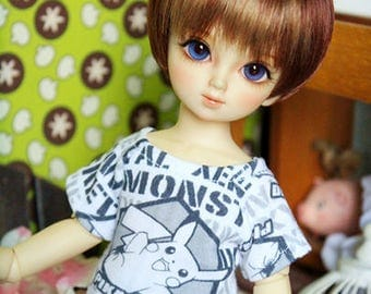 Pokemon T-Shirt | MSD, yoSD | Bjd Clothing