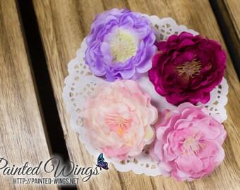 Handmade BJD Hibiscus Hairclip | SD | Doll Accessory