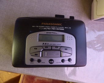 vintage PANASOANIC RQ-V88 many  EXTRAS discount was 22 naw is 17