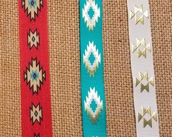 No Slip Aztec Headband