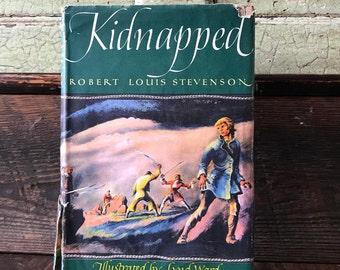 Original Kidnapped by Robert Louis Stevenson - Hardcover 1948