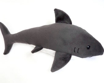 Shark Plushie - Great White Shark - Shark Toy