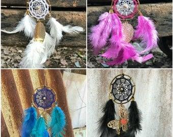 Beautiful dreamcatcher keychains