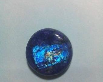 Blue Rainbow Moonstone 19 MM Cabochon