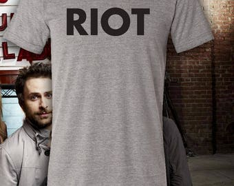 Mac's RIOT It's Always Sunny in Philadelphia Triblend Crew Neck T-Shirt