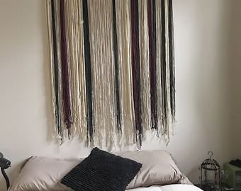 Large Wall Hangings Awesome Large Wall Hanging  Etsy Decorating Inspiration