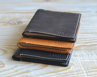 SALE Leather passport cover-passport holder-personalized passport covers-leather passport holder-passport case-travel wallet-passport wallet