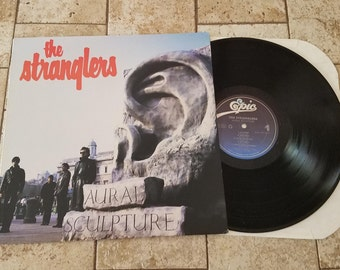 "The Stranglers ""Aural Sculpture"" LP 1985 Epic Records"