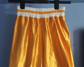 Vintage Gold 70s Gym Shorts