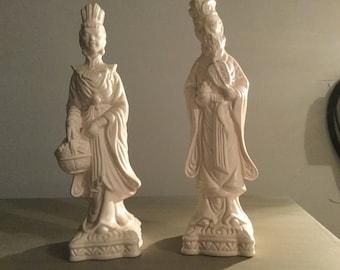 Asian ceramic  figurines
