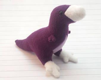 T.rex Plushie - custom colour