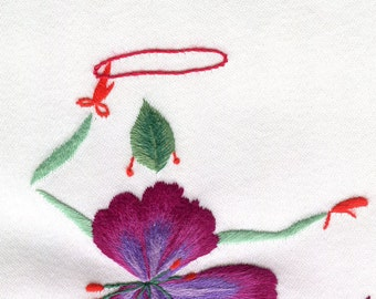 Hand embroidery kit, Cerceau, or Christmas present