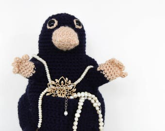 Niffler // Fantastic Beasts // Crochet Niffler // Harry Potter // Newt Scamander //  Harry Potter Toy // Hufflepuff // Harry Potter Gift