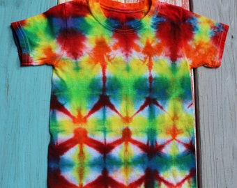 Flagpole Sitta - Tie Dye Toddler T-Shirt - Size 2T - 3T