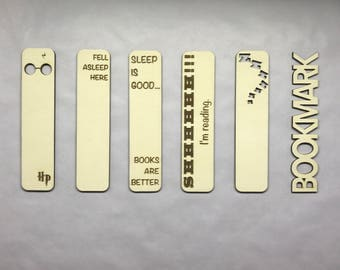 Personalised Bookmark   Bookmark   Wooden   Acrylic   Unique   Name   Customised   Gift   Laser Cut   Reading   Engraved   Personalised
